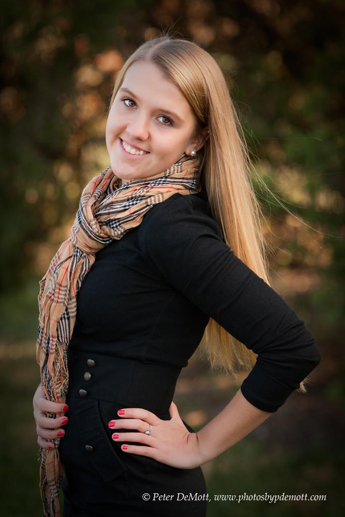 lovely senior portrait session with jennifer mcelveen senior at